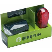 Lámpa Bikefun szett Square E+H 4+3 LED