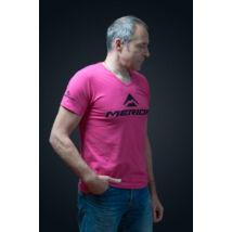 Polo MERIDA 2015 rövid XL Pink MORE SUCCESS - V nyak