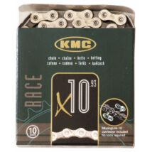 Lánc KMC X10 silver 1/2x1/128 112L