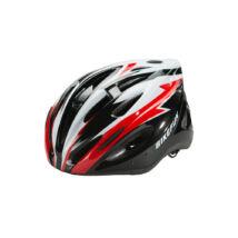 Fejvédő Bikefun Cobber L fekete/pir 58-61 cm