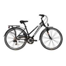 Kerékpár Adriatica Sity 2 700C 21s női 45cm fekete