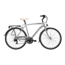 Kerékpár Adriatica Sity 3 700C 18s férfi 50cm szürke