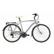 Kerékpár Adriatica Sity 3 700C 18s férfi 58cm szürke