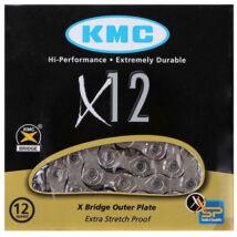 Lánc KMC X12-1 Silver 1/2x11/128 126L