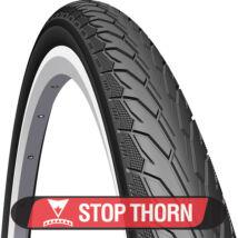 KÜLSŐ MITAS (Rubena) V66 Flash Stop Thorn 28x1,75 (47-622) drótperemes fekete