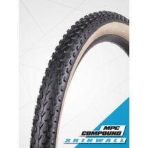 Vee Tire gumiabroncs kerékpárhoz 54-584 27,5x2,10 VRB 321 MISSION Multiple Purpose Compound, skinwall (fekete/krém oldalfal), drótos (B32198)