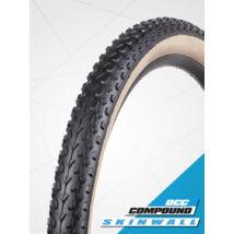 Vee Tire gumiabroncs kerékpárhoz 57-622 29x2,25 VRB 321 MISSION Dual Control Compound, skinwall (fekete/krém oldalfal), hajtogatós, KEVLAR (B32192)