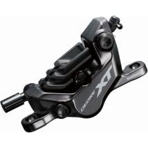 Tárcsafék-Nyereg Shimano XT BR-M8120 Hidraulikus, 4 dugattyús, gyantás, hűtőbordás fékbetét