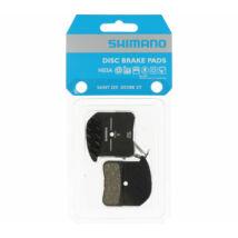 Tárcsafékbetét Shimano H03A MTB gyantás hűtőbordás 1 pár (1 fékbe való) (Y1XM98020)
