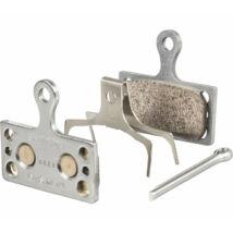 Tárcsafékbetét Shimano G04S MTB/Országúti fémes 1 pár (1 fékbe való) (Y8MY98010)