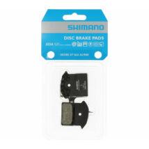 Tárcsafékbetét Shimano J03A MTB/Országúti gyantás hűtőbordás 1 pár (1 fékbe való) (Y8Z298010)