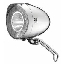 Lámpa XLC elemes első, Retro LED, króm, 20 LUX, kapcsoló CL-F20