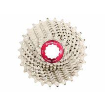Sunrace CSRX1 11 sebességes fogaskeréksor [ezüst-piros, 11-28]