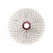 Sunrace CSMX3 10AY 10 sebességes fogaskeréksor [ezüst-piros, 11-42]