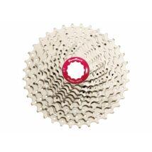 CSMX0 10 sebességes fogaskeréksor [ezüst-piros, 11-36]