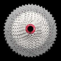 Sunrace CSMZ90 WA5 12 sebességes fogaskeréksor [ezüst-piros, 11-50]