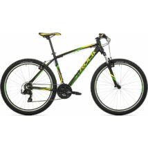 """Rock Machine Manhattan 40-27 XC kerékpár [17"""", fekete-sárga-zöld]"""