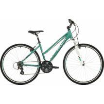 """Rock Machine Crossride 100 Lady cross kerékpár [19"""", zöld/fehér/szürke]"""