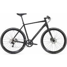 Rock Machine Blackout 40 Fitness Kerékpár [56 Cm, Fekete]