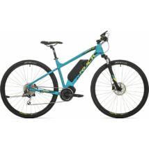 """Rock Machine Crossride e500 elektromos cross kerékpár [18"""", kék/sárga/fekete]"""