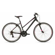 """Superior RX 510 Lady cross kerékpár [18"""", fekete/szürke/rózsaszín]"""