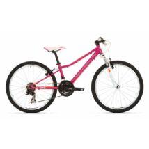 """Superior Modo Xc 24 24""""-Os Kerékpár [12"""", Magenta/Narancs/Fehér]"""