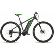 """Rock Machine '19 Storm e60-29 elektromos MTB kerékpár [19"""", matt fekete/ezüst/zöld]"""