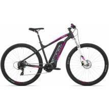 """Rock Machine '19 Catherine e60-29 elektromos MTB kerékpár [19"""", matt fekete/ezüst/rózsaszín]"""