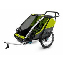 Utánfutó THULE CHARIOT CAB2 lime zöld