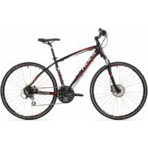 "Rock Machine CrossRide 300 cross kerékpár [16.5"", fekete-piros-fehér]"
