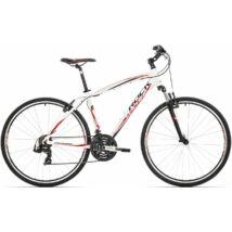"Rock Machine CrossRide 75 cross kerékpár [16.5"", fehér-fekete-piros]"