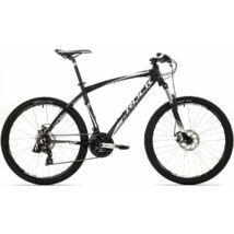 """Rock Machine Manhattan 60 XC kerékpár [21"""", fekete-fehér-szürke]"""