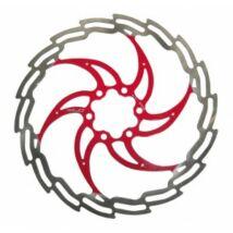 Féktárcsa 160 Mm Ezüst-Piros Br-X02