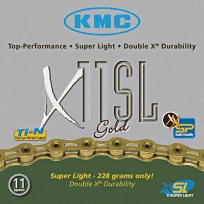 Lánc KMC X11 SL GOLD 1/2x1/128 114L