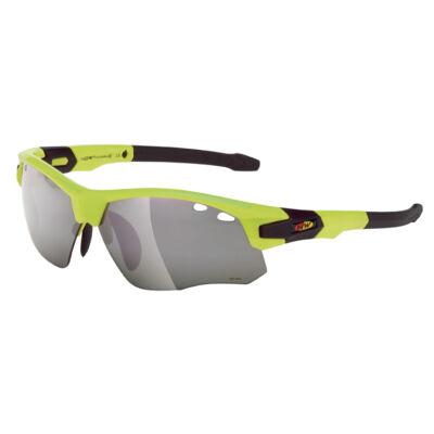 Szemüveg NORTHWAVE GALAXY sárga fluo/fekete keret: sárga fluo/fekete
