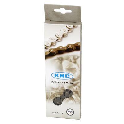 Lánc KMC Z610H Internal Gear (agyváltóhoz) barna/sötét SILVER 1 sebességes