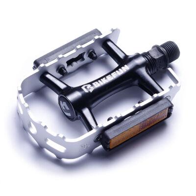 Pedál Bikefun MTB Mountainer-II alu, ezüst-feket
