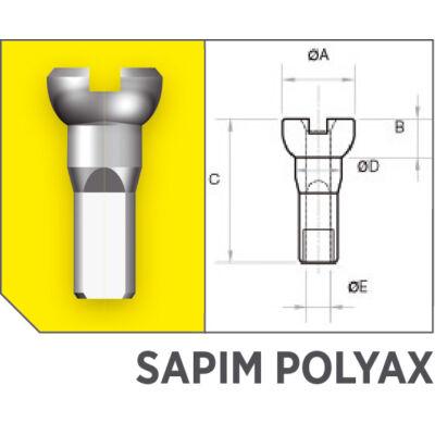 Küllőanya Sapim Polyax réz 14G 12