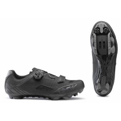 Cipő NORTHWAVE MTB ORIGIN PLUS WIDE 46 szélesített, fekete
