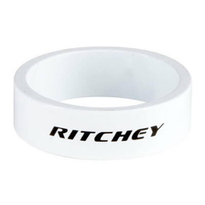 Kormánycsapágy hézagoló RITCHEY Fehér 10mm 1-1/8 (5db/csomag)