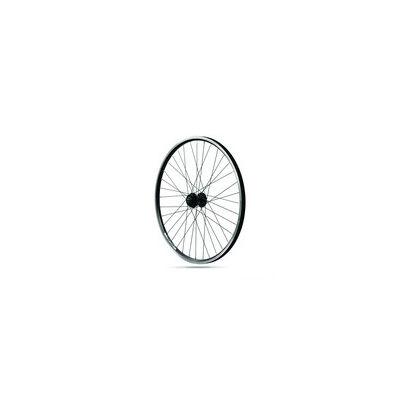 """RODI Trekking első kerék 28"""" Skorpion, 622x19C, 32ly. fekete, tárcsafékes DB600 QR HUB, fekete küllők"""