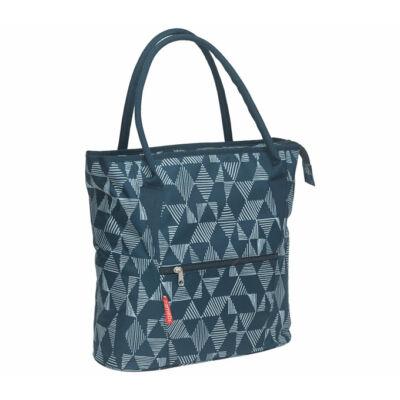 NEWLOOXS Cameo dupla  kék, háromszöges kerékpáros táska