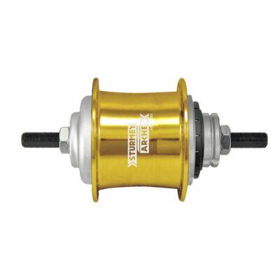 Sturmey Archer S2 DuoMatic KickShift agyváltó [arany, 36]