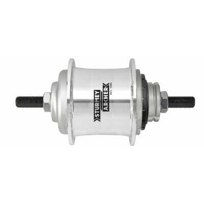 Sturmey Archer S2 DuoMatic KickShift agyváltó [ezüst, 32]