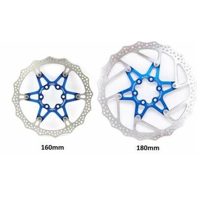 a2Z ATD 6 csavaros féktárcsa [kék, 180 mm]