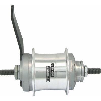Sturmey Archer S2C DuoMatic KickShift kontrás agyváltó [ezüst, 32]