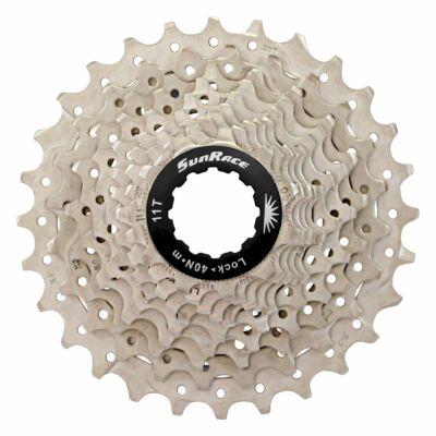 Sunrace CSRS0 10 sebességes fogaskeréksor [ezüst-fekete, 11-28]
