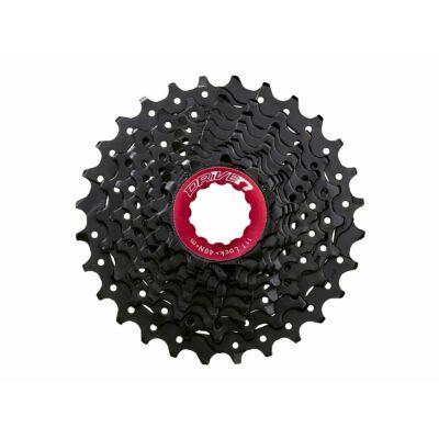 Sunrace CSRX0 10 sebességes fogaskeréksor [fekete-piros, 11-28]