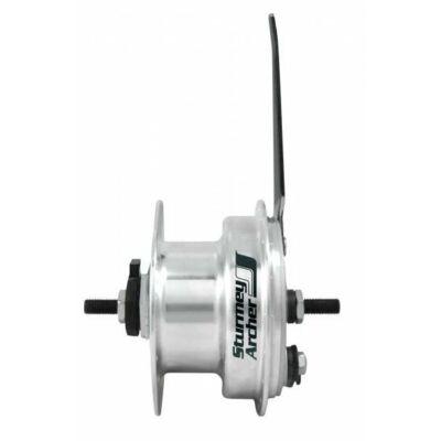 Sturmey Archer XL-FDD dinamós, 90mm dobfékes agydinamó [36, 2.4 W]