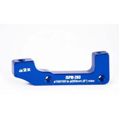 a2Z IS->PM (E203/H185) tárcsafék adapter [kék]